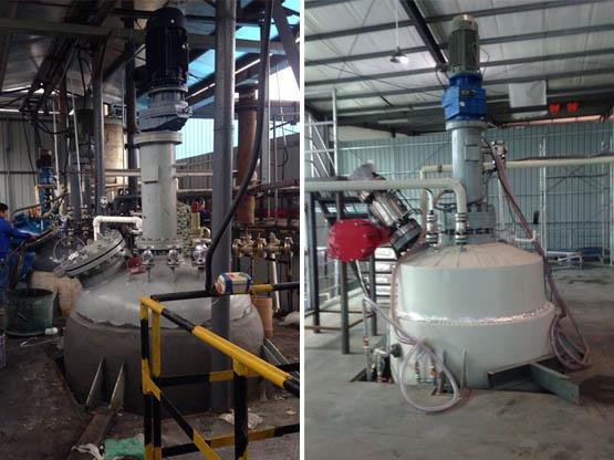 为客户专门设计的3000L加氢反应釜
