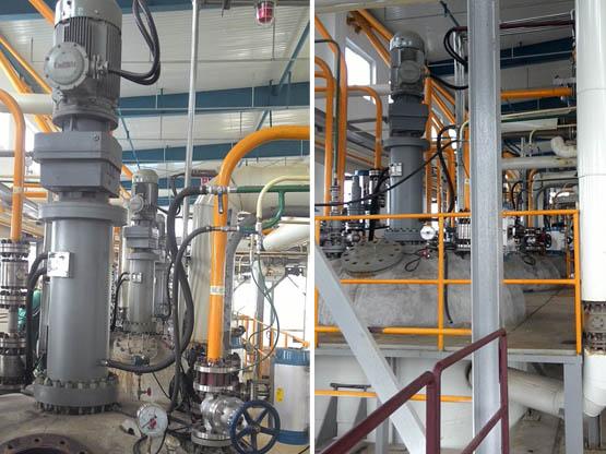 为辽宁一家大型化工厂设计、生产的对硝基苯胺15立方高压反应釜