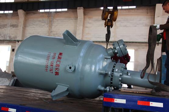 四川某单位1台2000L的磁力驱动反应釜