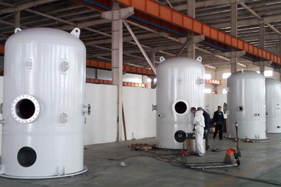 出口日本神户制钢76000L空压罐