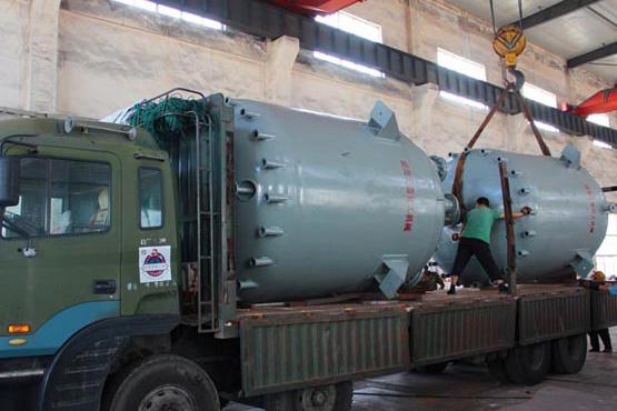 大连2台10000L水热合成驱动反应釜