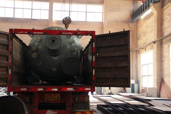 2台9100L不锈钢磁力加氢反应釜